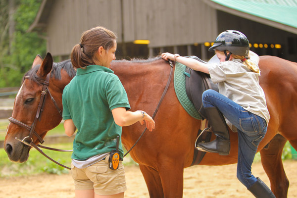 Camp Merrie Woode Nc Girls Summer Camp Horseback Riding
